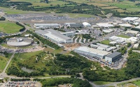 JLR's engineering centre at Gaydon