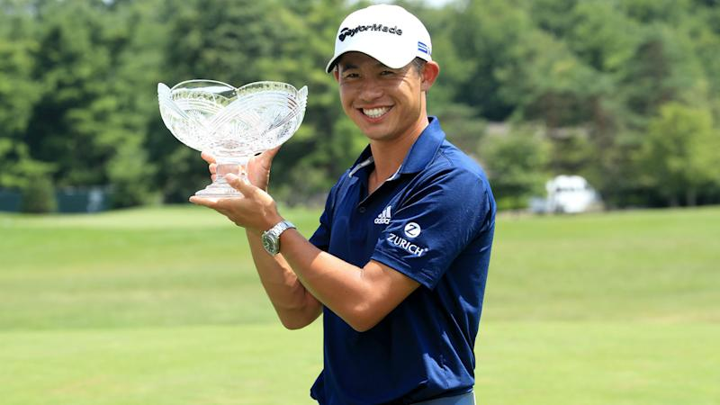 Morikawa edges out Thomas to win Workday Charity Open