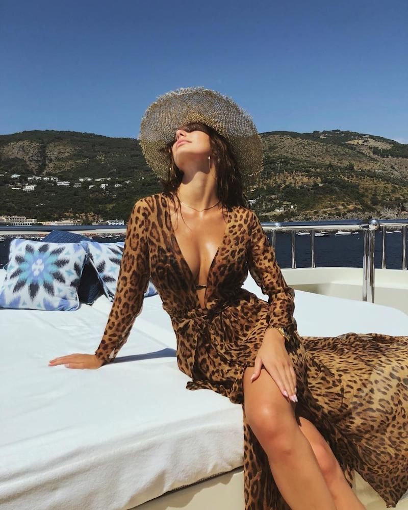 He may not be pictured here in , but rest assured that famously camera-shy 43-year-old Leonardo DiCaprio is still dating 21-year-old actress and model Camila Morrone. The pair seem to have made it something of a mission to have the ultimate summer vacation.