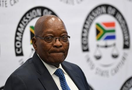 'I know nothing': South Africa's Zuma ducks and dives at corruption inquiry