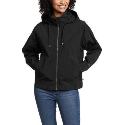 """<p><strong>Eddie Bauer</strong></p><p>eddiebauer.com</p><p><strong>$71.40</strong></p><p><a href=""""https://go.redirectingat.com?id=74968X1596630&url=https%3A%2F%2Fwww.eddiebauer.com%2Fp%2F20612587%2Fwomen&sref=https%3A%2F%2Fwww.womenshealthmag.com%2Ffitness%2Fg33863839%2Fgifts-for-hikers%2F"""" rel=""""nofollow noopener"""" target=""""_blank"""" data-ylk=""""slk:Shop Now"""" class=""""link rapid-noclick-resp"""">Shop Now</a></p><p>Stay covered and stop breezes in their tracks with this lightweight, water-repellant windbreaker. Surprise! It also converts into a waist pack by tucking it into the hidden pocket in the back.</p>"""