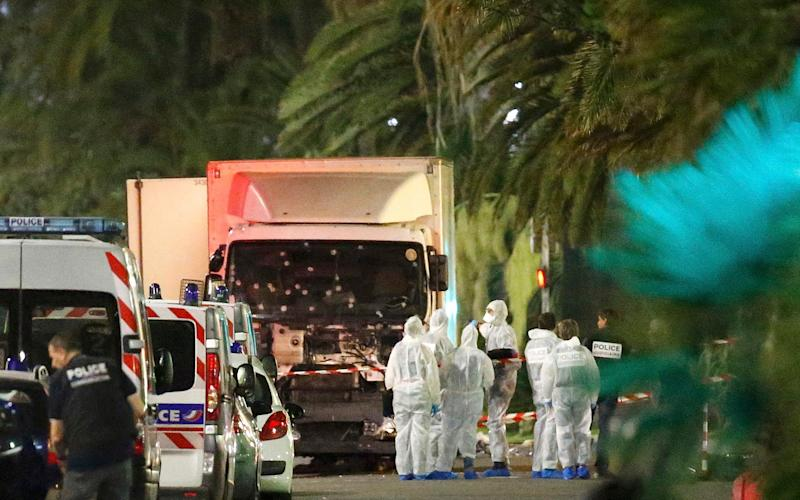 The Nice attacker killed 84 people and injured hundreds before being shot dead - Reuters