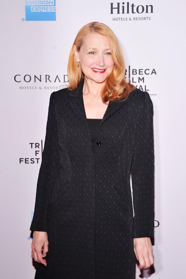 NEW YORK, NY - APRIL 26:  Actress Patricia Clarkson attends the 2012 TFF Awards during the 2012 Tribeca Film Festival at the Conrad Hotel on April 26, 2012 in New York City.  (Photo by Stephen Lovekin/Getty Images)
