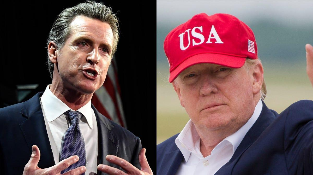 In California: A Trump visit, a profiteering slumlord and a trusting tiger