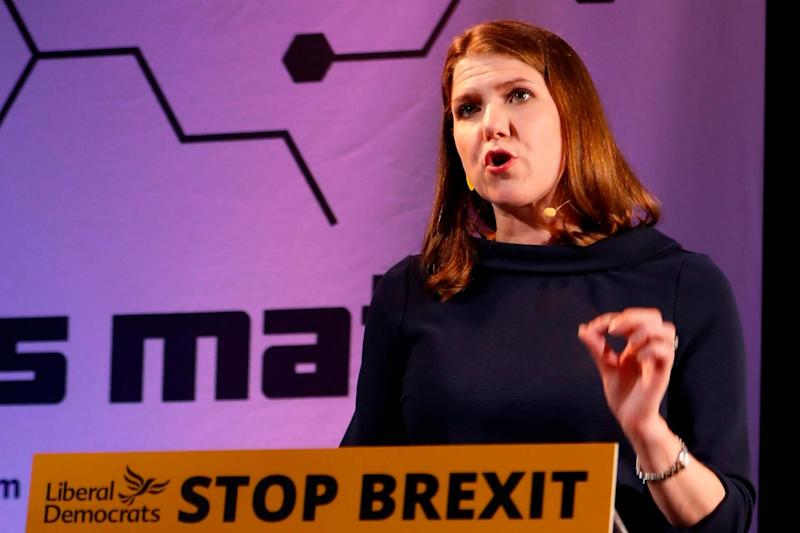 'Stop Brexit': Liberal Democrats leader Jo Swinson: AFP/Getty Images