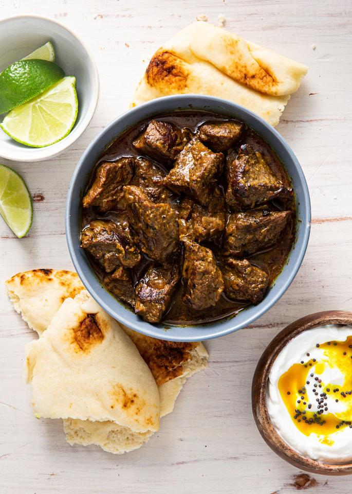 """<p>This curry will blow you away.</p><p>Get the recipe from <a href=""""https://www.delish.com/cooking/recipe-ideas/a30781449/beef-curry-recipe/"""" target=""""_blank"""">Delish. </a></p>"""