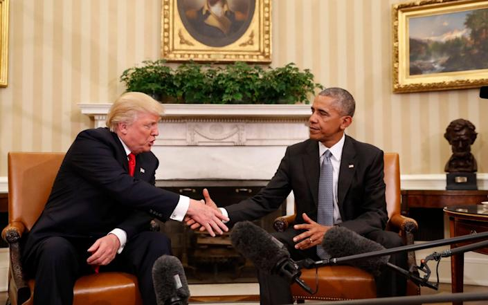 Obama has avoided being publicly critical of Trump since leaving office - AP
