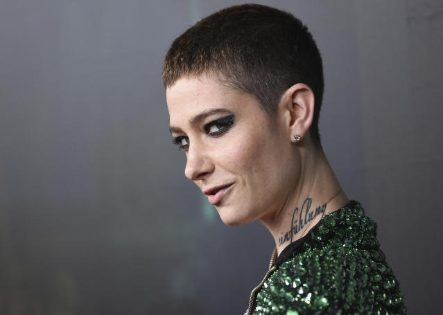 Actor Asia Kate Dillon. (Photo: Evan Agostini/Invision/AP)