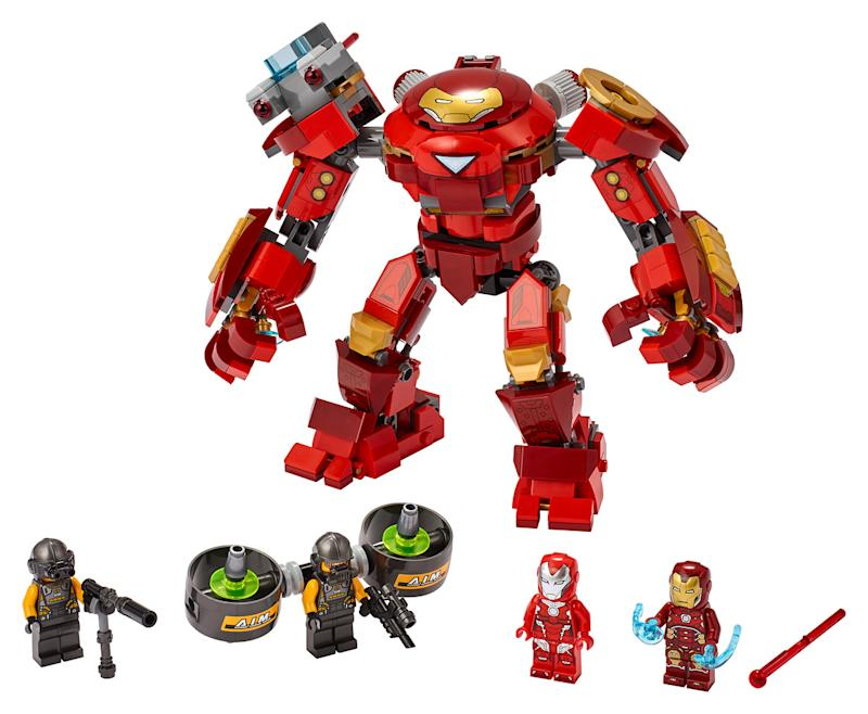 Lego Marvel Avengers Iron Man Hulkbuster Versus A.I.M. Agent Building Kit (Photo: Disney Parks, Experiences & Products)