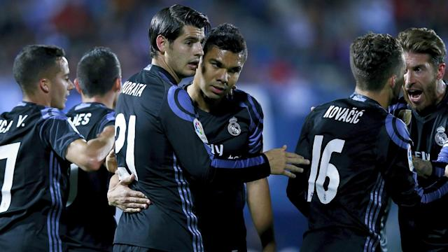 Real Madrid returned to the top of LaLiga by beating Leganes, Alvaro Morata ensuring they did not miss the rested Cristiano Ronaldo.