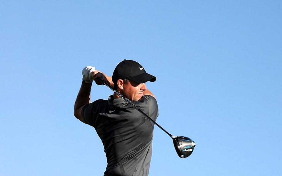 Rory McIlroy -Rory McIlroy fights back after nightmare opening at the Waste Management Open - GETTY IMAGES