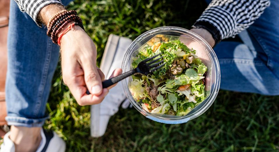 Researchers compared the hormone levels of men on a range of eating regimes. (Getty Images)