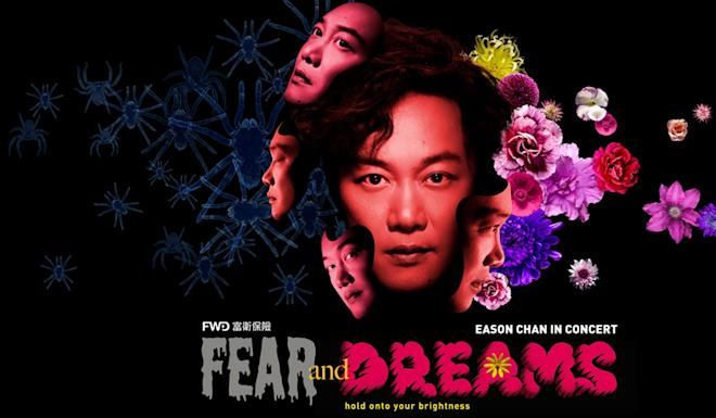 Chan was preparing for a run of his Fear and Dreams shows. Photo: Facebook