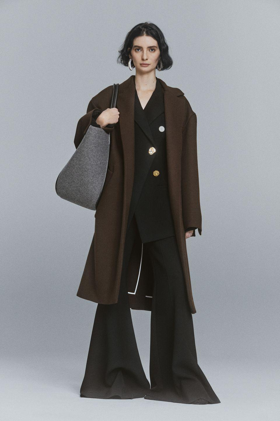 """<p>According to a release for Jack McCollough and Lazaro Hernandez latest, Pre Fall 2021, """"advocates for a way of dressing that is free of unnecessary complication, while celebrating the joy of dressing up in all its tactile, material, andsensual glory, and as an antidote to the increasingly challenging times we are living in.""""</p>"""