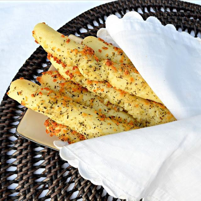 "<div class=""caption-credit""> Photo by: Serena Bakes Simply From Scratch</div><div class=""caption-title"">Cheesy Garlic and Herb Breadsticks</div>As a special treat with a holiday dinner, Serena bakes these cheesy garlic and herb encrusted breadsticks: ""Warm and crunchy on the outside. Soft and chewy on the inside, could anything be better?"" We think perhaps not. <br> <br> <b>Recipe: <a href=""http://www.serenabakessimplyfromscratch.com/2012/08/easy-cheesy-garlic-and-herb-breadsticks.html"" rel=""nofollow noopener"" target=""_blank"" data-ylk=""slk:Cheesy Garlic and Herb Breadsticks"" class=""link rapid-noclick-resp"">Cheesy Garlic and Herb Breadsticks</a></b> <br>"