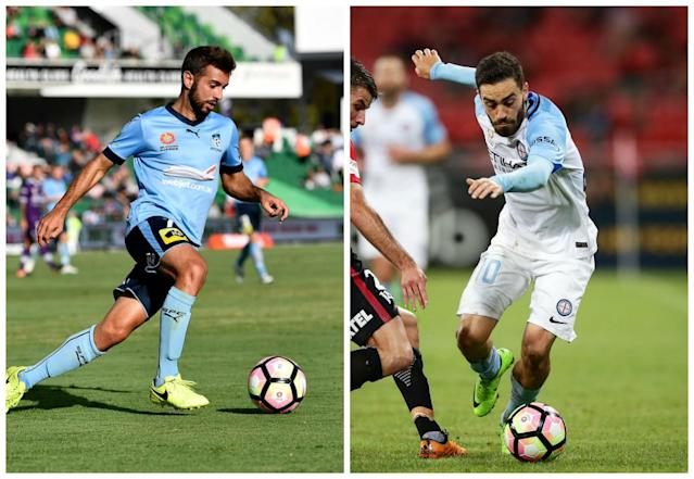 Can the Sky Blues build on their premiership success and break more A-League records or will the visitors bounce back from last week's trip north?