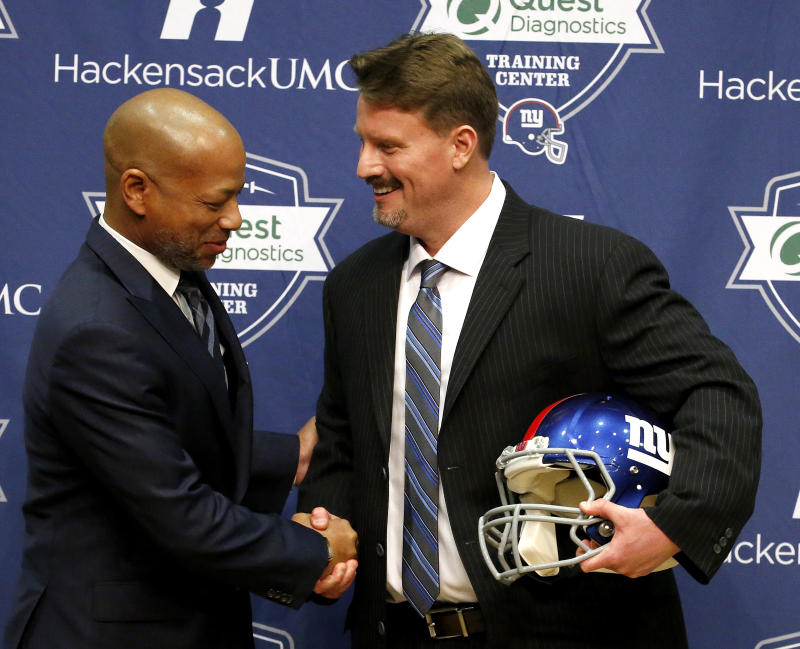 Two Super Bowl titles wasn't enough to keep Jerry Reese employed as Giants general manager. (AP)