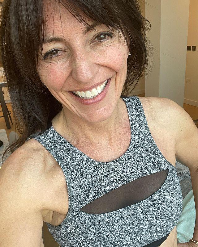 """<p>Despite being a fitness queen, DM stays open to trying new workouts – something we love at WH. It stops your body from getting too used to what's coming and keeps your brain on its toes, too. </p><p><a href=""""https://www.instagram.com/p/CM1maePlnpO/"""" rel=""""nofollow noopener"""" target=""""_blank"""" data-ylk=""""slk:See the original post on Instagram"""" class=""""link rapid-noclick-resp"""">See the original post on Instagram</a></p>"""