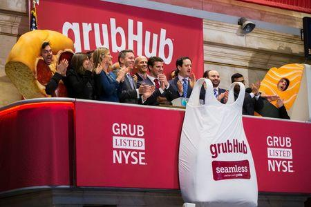 GrubHub Inc (GRUB) Stock Sinks Despite Earnings Beat