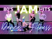 "<p>Take it back to the 1980s with a dance workout that cycles through the hits, one leg-warmer at a time. There's the option to use light hand-weights to double the burn but they're not necessary if you'd prefer to go bodyweight. </p><p><a href=""https://www.youtube.com/watch?v=GSAfvy7dLbk&ab_channel=TheStudiobyJamieKinkeade"" rel=""nofollow noopener"" target=""_blank"" data-ylk=""slk:See the original post on Youtube"" class=""link rapid-noclick-resp"">See the original post on Youtube</a></p>"