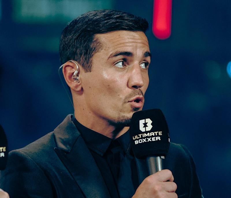 Crolla has taken up punditry with Ultimate Boxxer Photo: Charlie Henderson/ Ultimate Boxxer