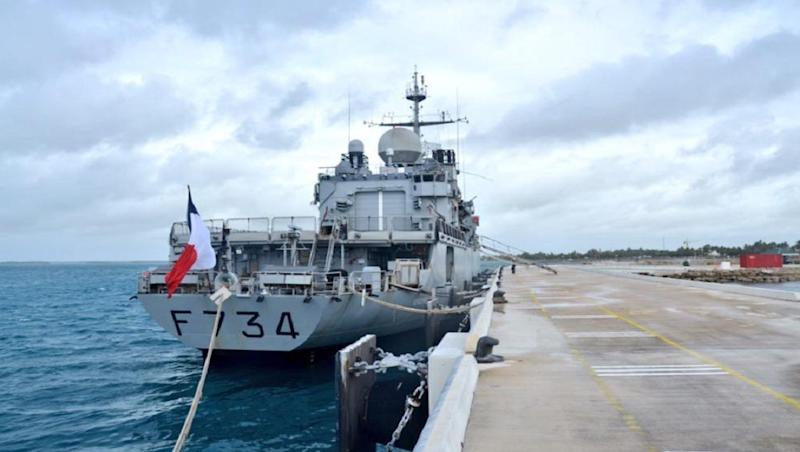 After US Ships, French Warship Passes Through the Contested Waters of Taiwan Strait