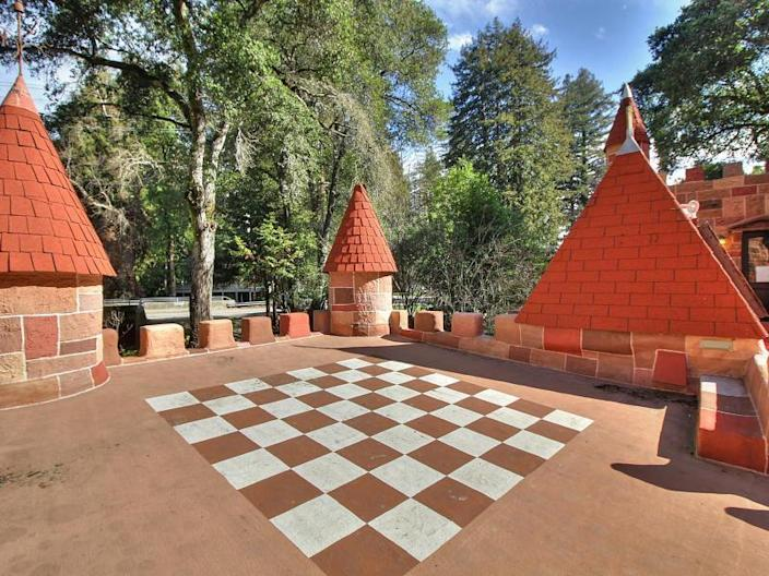 Own Your Own Castle and Play Life-Size Chess On The Roof, As Royalty Does