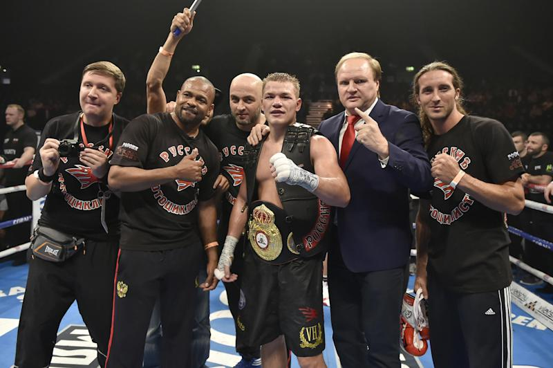 Chudinov is a former WBA 'Super' champion. (Getty Images)