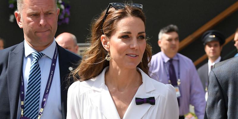 Prince George played tennis with Roger Federer, Kate Middleton reveals