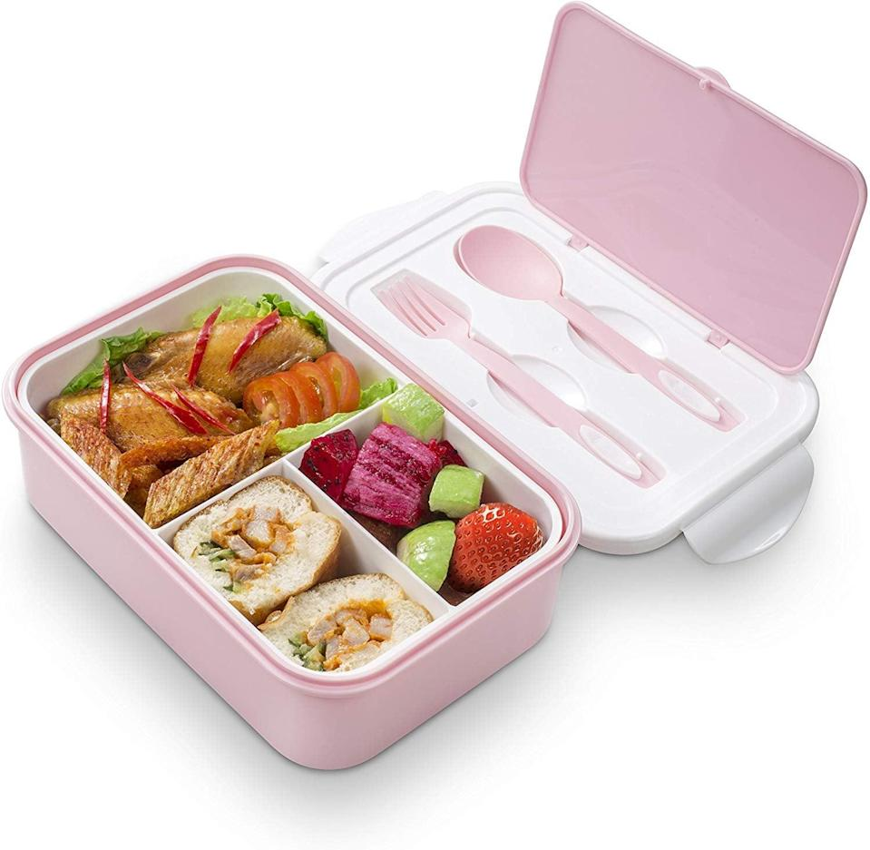 <p>Upgrade their lunch with this <span>Bento Lunch Box</span> ($15).</p>