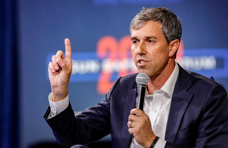 Democratic presidential candidate and former Texas congressman Beto O'Rourke. (Photo: Steve Marcus/Reuters)
