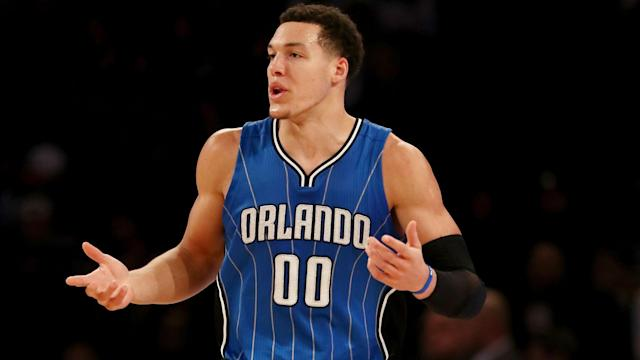 "<a class=""link rapid-noclick-resp"" href=""/nba/players/5295/"" data-ylk=""slk:Aaron Gordon"">Aaron Gordon</a> averaged 17.6 points, 7.9 rebounds and 2.3 assists for the Magic last season. (AP)"