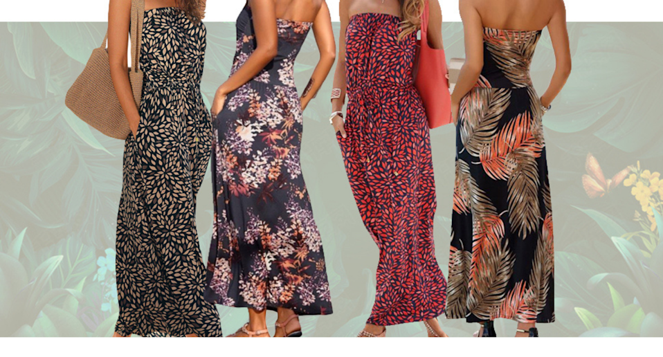 This affordable maxi dress will be your new summer staple. Image via Amazon.