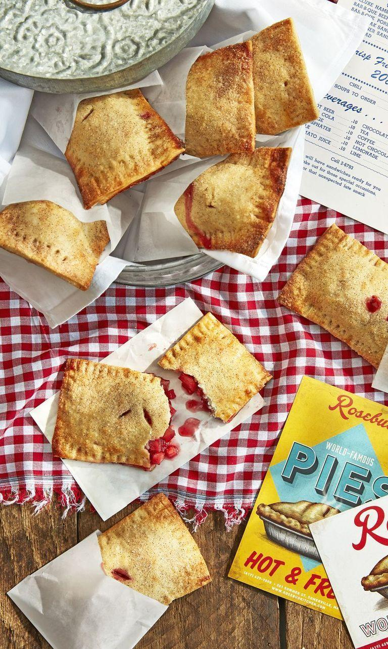 """<p>Even though you're likely stuffed from pie, these cute mini pies will have you thinking twice. Use up any leftover cranberries and apples in this portable, sweet snack.</p><p><strong><a href=""""https://www.countryliving.com/food-drinks/a24280381/cranberry-apple-hand-pies-recipe/"""" rel=""""nofollow noopener"""" target=""""_blank"""" data-ylk=""""slk:Get the recipe"""" class=""""link rapid-noclick-resp"""">Get the recipe</a>.</strong></p><p><strong><a class=""""link rapid-noclick-resp"""" href=""""https://www.amazon.com/Nordic-Ware-43174-Delight-Aluminum/dp/B079Q671Q5/?tag=syn-yahoo-20&ascsubtag=%5Bartid%7C10050.g.1064%5Bsrc%7Cyahoo-us"""" rel=""""nofollow noopener"""" target=""""_blank"""" data-ylk=""""slk:SHOP BAKING SHEETS"""">SHOP BAKING SHEETS</a><br></strong></p>"""