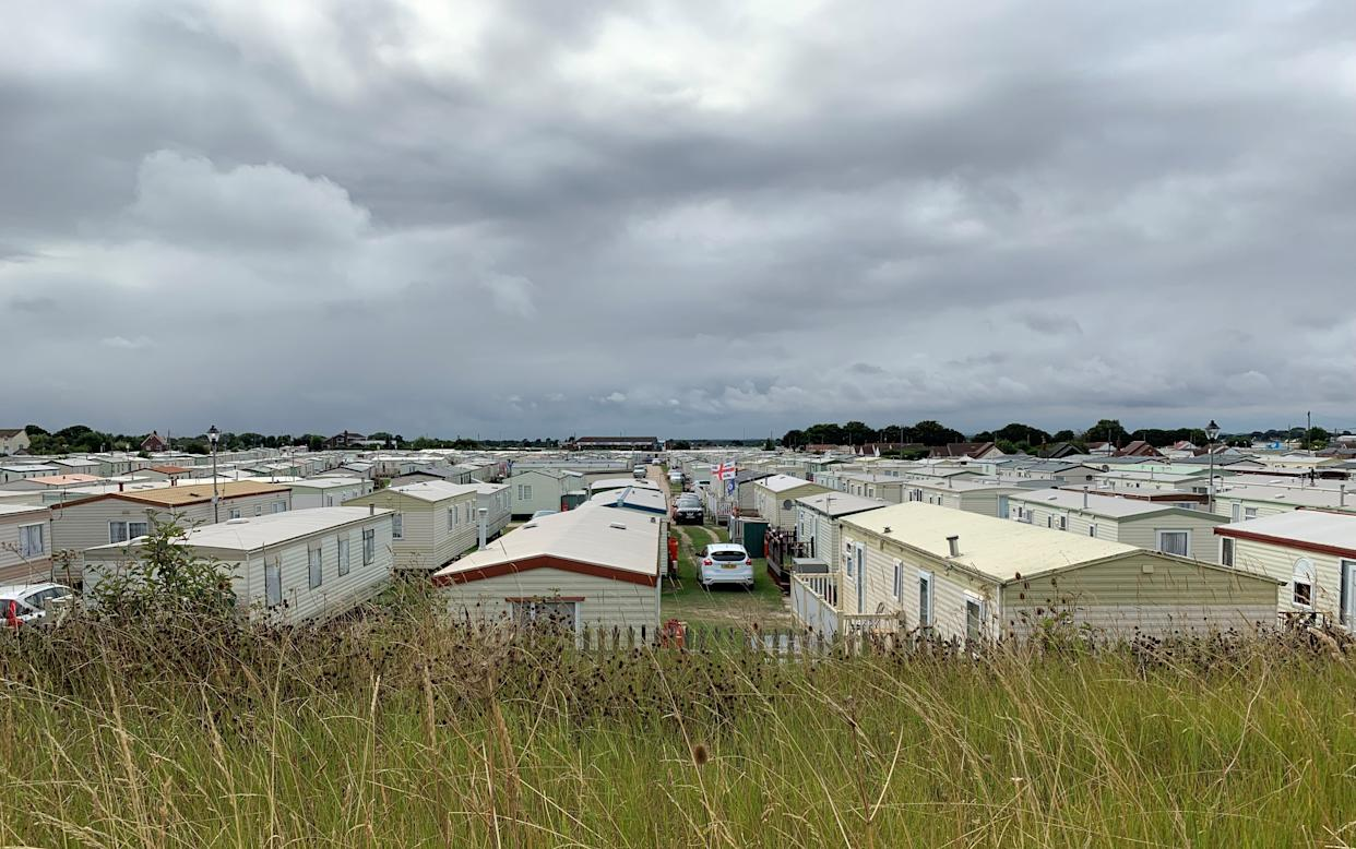 The Sealands Caravan Park in Ingoldmells, near Skegness where a two-year-old girl died following a fire at the caravan site on Monday. Lincolnshire Police said a woman and three of her children were able to make it out of the caravan safely, but her fourth child, the toddler, died. Picture date: Tuesday August 24, 2021.