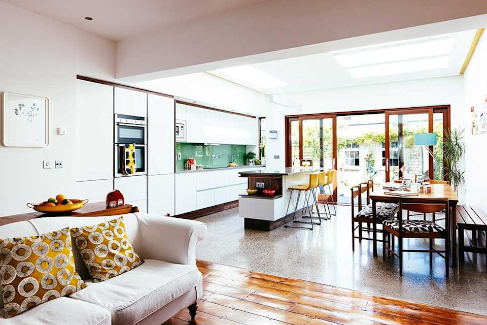 maximising light in a kitchen extension