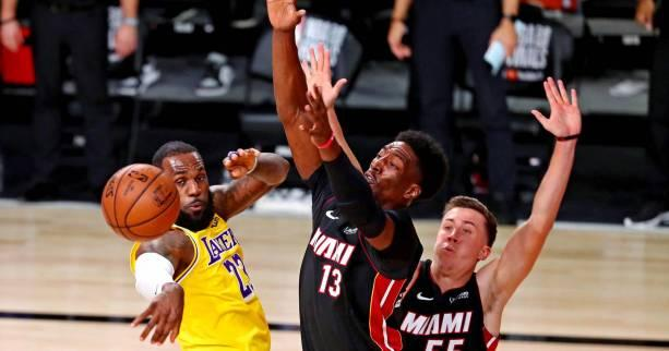 Basket - NBA - NBA : Bam Adebayo et Goran Dragic (Miami) absents pour le match 2 de la finale contre les Lakers