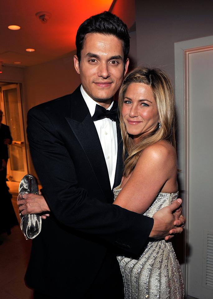 "John Mayer's song ""Shadow Days"" was an ode to Jennifer Aniston. ""It really took him a long time to get over her. He really loved her a lot,"" according to a source. ""He wrote the song as a farewell letter knowing [Jen] would hear it."""