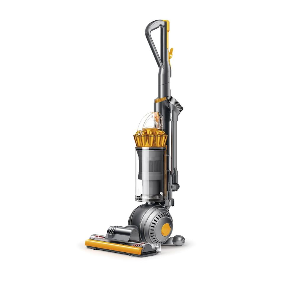 """<p><strong>Dyson</strong></p><p>wayfair.com</p><p><strong>$399.99</strong></p><p><a href=""""https://go.redirectingat.com?id=74968X1596630&url=https%3A%2F%2Fwww.wayfair.com%2Fappliances%2Fpdp%2Fdyson-ball-multi-floor-2-upright-vacuum-cleaner-xys1037.html&sref=https%3A%2F%2Fwww.popularmechanics.com%2Fhome%2Fg37679919%2Fbest-dyson-vacuums%2F"""" rel=""""nofollow noopener"""" target=""""_blank"""" data-ylk=""""slk:Shop Now"""" class=""""link rapid-noclick-resp"""">Shop Now</a></p><p>If you're looking for great suction at a reasonable price, the Dyson Ball Multi Floor 2 is one of the brand's top upright vacuums. It has a convenient bagless design that uses the brand's signature Ball technology to increase maneuverability, making it easy to navigate around obstacles and into tight spaces. </p><p>The vacuum is designed for use on all types of flooring, with a self-adjusting cleaner head that automatically raises or lowers to deliver optimal suction power. The vacuum has a HEPA filter to capture fine particles, and its instant-release wand gives you the flexibility to easily clean other areas of your home, such as along the ceiling or underneath furniture.</p>"""