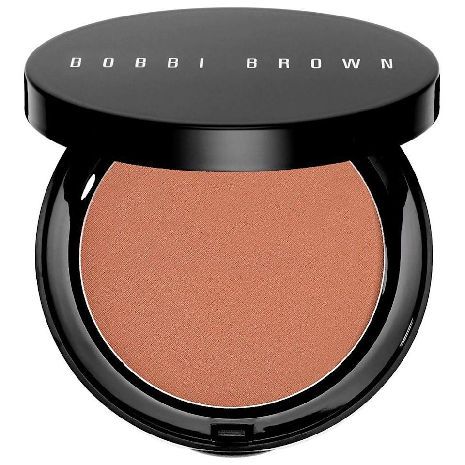 "<p><strong>Bobbi Brown</strong></p><p>sephora.com</p><p><strong>$44.00</strong></p><p><a href=""https://go.redirectingat.com?id=74968X1596630&url=https%3A%2F%2Fwww.sephora.com%2Fproduct%2Fbronzing-powder-P270548&sref=https%3A%2F%2Fwww.bestproducts.com%2Fbeauty%2Fg33807456%2Fbronzers-for-dark-skin%2F"" rel=""nofollow noopener"" target=""_blank"" data-ylk=""slk:Shop Now"" class=""link rapid-noclick-resp"">Shop Now</a></p><p>This bronzer has over 45,000 ""loves"" on Sephora for a reason: It's an O.G. that will never leave you disappointed. It has a natural satin finish, and comes in six different shades to experiment with. The result is a flattering summer glow even in the dead of winter.</p>"
