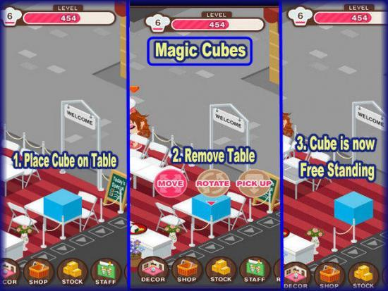 World Chef how to use Magic Cubes