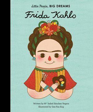 "This book teaches kids about the life of artist <a href=""https://www.huffingtonpost.com/entry/frida-kahlo-birthday_us_577c2871e4b0a629c1ab1edb"">Frida Kahlo</a>, and is part of the <a href=""https://www.quartoknows.com/series/837/Little-People-Big-Dreams/?numperpage=64#titlelist"" target=""_blank"">""Little People, Big Dreams""</a> series, which highlights extraordinary women. (By Maria Isabel S&aacute;nchez Vegara, illustrated by Gee Fan Eng)"