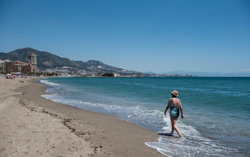 Fuengirola in Spain. Visitors from 60 countries will be allowed to apply for the ETIAS - GETTY IMAGES