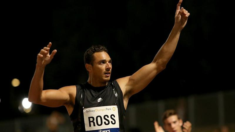 Josh Ross has a record third Stawell Gift title in his sights.