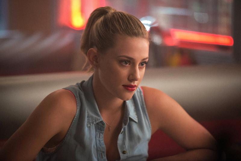 Whether high or low, Betty Cooper's ponytail tells a lot about what she's feeling. (Photo: Everett)