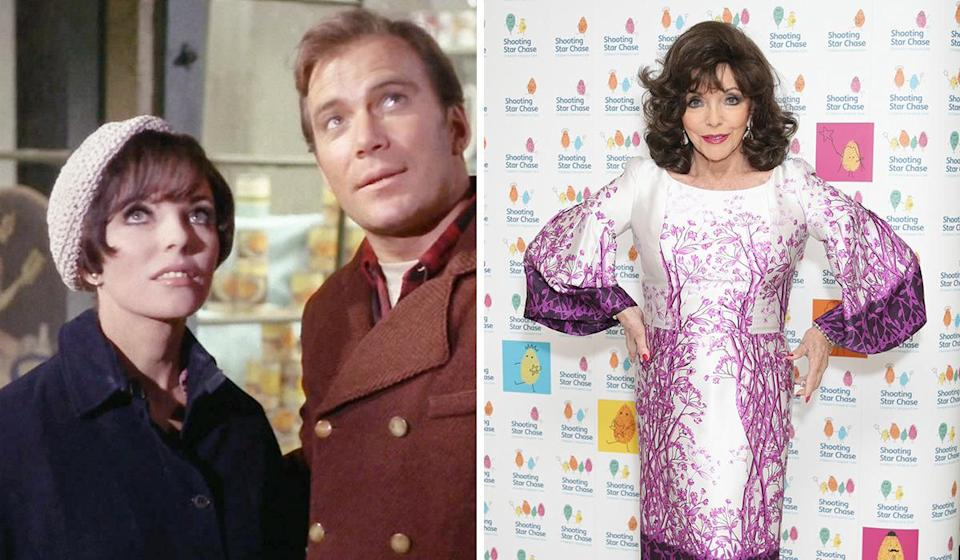 <p>Yes, really. The English diva appeared in the original series in a time travel episode set in 1930, in which she played a social worker who got off with William Shatner.</p>