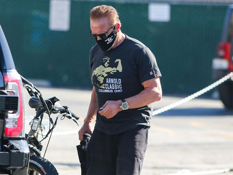 Arnold Schwarzenegger in Los Angeles. (Bild: Getty Images9
