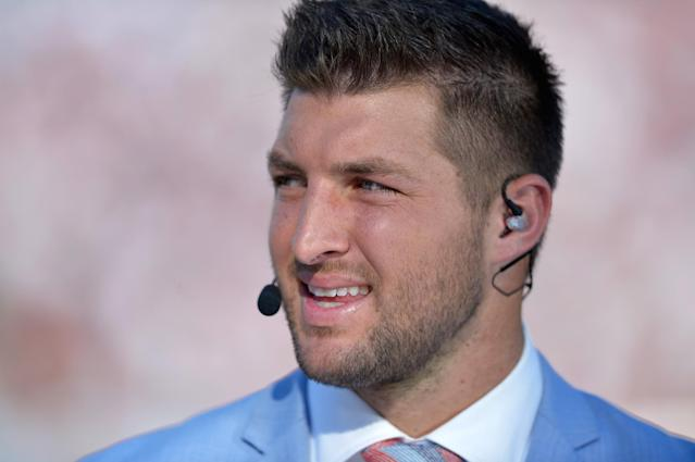 Tim Tebow has been offered a contract by Aguilas del Zulia of the Venezuelan Professional Baseball League. (Getty)