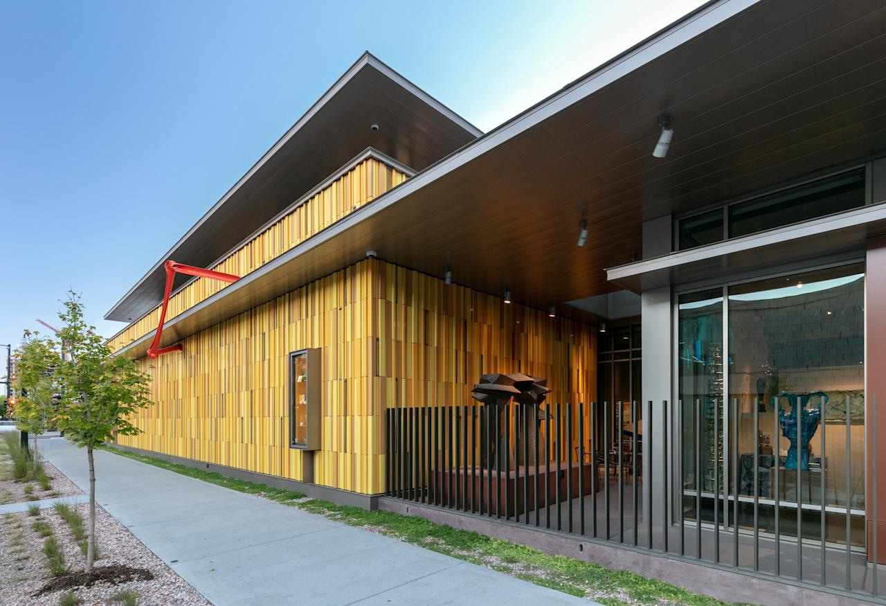 """<p><strong>Set the scene—where are we?</strong><br> Although still an under-the-radar spot for serious art lovers, the Kirkland Museum elevated its profile exponentially in 2018 thanks to a new $22 million structure in the museum-packed Golden Triangle neighborhood. It's now a stone's throw from the <a href=""""https://www.cntraveler.com/activities/denver/denver-art-museum?mbid=synd_yahoo_rss"""">Denver Art Museum</a> (making it easy to visit both in a day), and you can't miss the building's mirage of modern yellow panels and UV-protected glass that doubles as windows.</p> <p><strong>Cool. So what's the collection like?</strong><br> Unlike other museums in the city, the Kirkland is organized salon-style, displaying everything from Andy Warhol paintings to chairs designed by Frank Lloyd Wright. The international decorative art collection spans every major design period since 1870, but the museum is at its best displaying the work of Colorado's most distinguished painter: Vance Kirkland. The museum moved Kirkland's original three-room studio eight blocks to its new location, and visitors can tour where the artist worked on his famous abstract and dot paintings.</p> <p><strong>Any special features we should know about?</strong><br> Visitors may not be used to seeing famous paintings and sculptures shown in situ with sofas or period-appropriate lamps, but the Kirkland's custom-designed spaces pull it off in style. Walking through the museum feels like you've entered a high-design living room; you'll barely have time to notice the thoughtful lighting and easy-to-read signage.</p> <p><strong>What do you make of the crowd?</strong><br> The Kirkland's popularity is on the rise, but this is still a spot for dedicated art aficionados. The space is rarely crowded, which gives sweater-vest wearing intellectuals plenty of time to contemplate the pieces, and the museum has a strict 13-and-older policy when it comes to children. So leave the young'uns at home and soak up the rarefied at"""