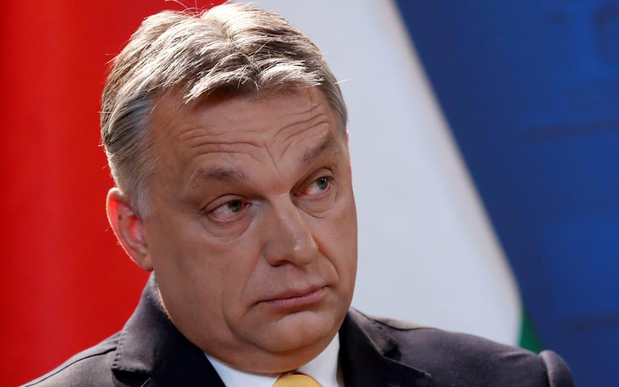 Hungarian Prime Minister Viktor Orban has defended his country's record - REUTERS